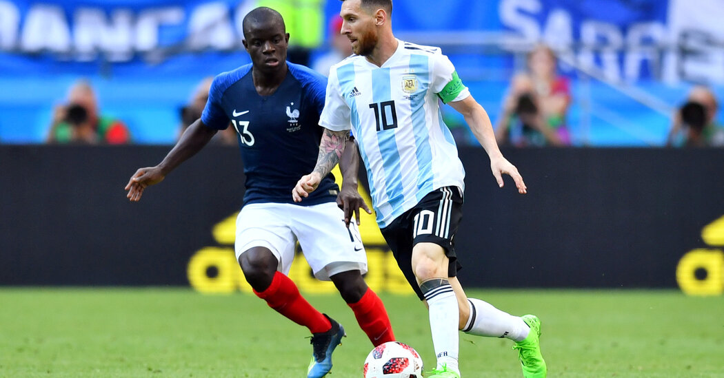 Soccer Battle Looming Over National Team Games - The New ...